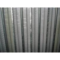 Construction Rib Lath Mesh , 0.3mm Galvanized Expanded Metal Mesh For Rendering Manufactures