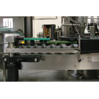 PLC Control Automatic Water Filling Machine OPP Film Labeling Machine For Bottles Manufactures