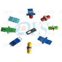 1 / 2 Core Plastic Metal Optical Fiber Patch Cord , Green Optical Fiber Cable Adapter Manufactures
