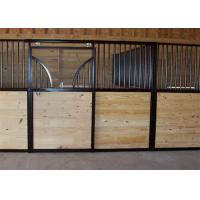 Eco - Friendly Carbonized Bamboo Board For Horse Stalls / Mesh Stall Fronts Manufactures
