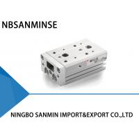 China MXS SMC Pneumatic Cylinder Air Slide Table , Double Acting Pneumatic Cylinder on sale