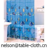 China Pvc shower curtain---SC003 on sale