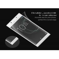 Anti Scratch Clear Screen Protector , Sony Xperia Xa Screen Protector Customized Manufactures