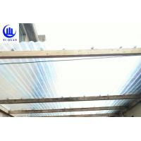 China Lightweight Transparent Corrugated Greenhouse Panels Weather Resistance on sale