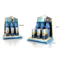 Customized high-end beverage plastic countertop display Manufactures