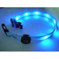 Super Cool Double Row Flashing LED Collars Wholesale Manufactures