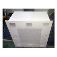 Customized Dimension HEPA Filter Box / HEPA AIR Diffuser For Clean Room Manufactures