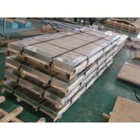 China TISCO / ZPSS Cold Rolled Stainless Steel Plate Slit Edge And HL Surface Finishing on sale