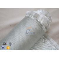 Heat Resistant Satin Weave E Glass Fiberglass Fabric 3784 850g High Strength Manufactures