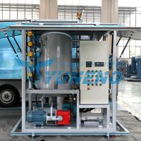 China Double Stage Transformer Oil Filter Machine Increasing Breakdown Voltage on sale