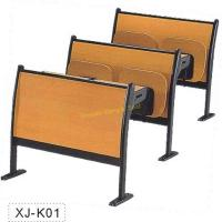 Quality Classic Amphitheater School Meeting Room Chair Metal Frame Plywood Interlocked for sale