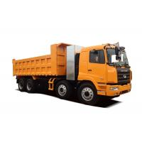 Heavy Duty Construction Dump Truck , 8x4 Dump Tipper Truck  CNG Tank 351~450 hp Manufactures