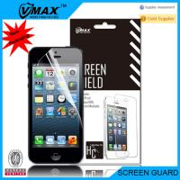 China Factory price High Clear screen protector for iPhone 5/5s/5c oem/odm(AA+ high quality) on sale