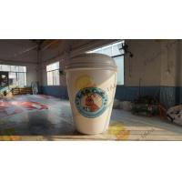 Customizable Inflatable Coffee Cup Replica For Club Party Decoration Manufactures