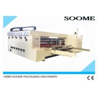 China Single Colour Flexo Printer Slotter Die Cutter Single United Tightly With Exquisite Picture on sale