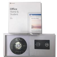 China 32 Bit 64Bit Microsoft Office Home And Student 2019 DVD For PC Lifetime Warranty on sale