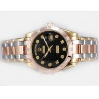 Qualified Rolex Masterpiece Automatic Three Tone Diamond with original box $158 hot sale Manufactures