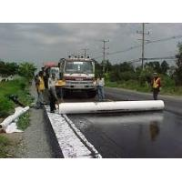 High water permeability Non Woven PET Geotextile membrane for dyke , tunnel , road Manufactures