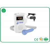 China Portable Fetal Doppler Machine LCD Display For Pregnant Alkalinity Battery on sale