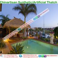 Synthetic Thatch Roofing Building materils  for Hawaii Bali Maldives resorts