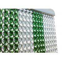 Versatility Metal Chain Door Curtain , Chain Link Screen Curtain For Isolation Wall Manufactures