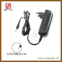 High quality 18W  AC DC adapter  switching power adapter with US /UK/AU/EU plug Manufactures