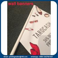 Custom Outdoor Wall Hanging Flags Banners Manufactures