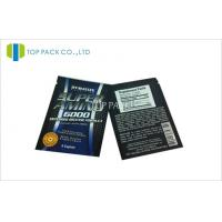 Super Sports Food Aluminum Foil Bags 3 Edges Heat Seal With Tear Manufactures