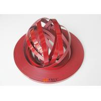 High Gloss Red Flexible Embossed Pvc Edging Strip For Kitchen Cabinet / Table Manufactures