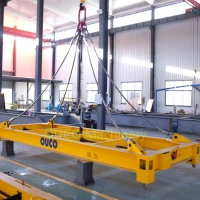Semi Auto 20ft Port Solution Crane Lifting Spreader Manufactures