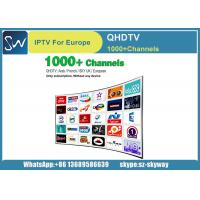 China QHDTV Iptv Account 1 year Free 1300 HD Channels for MAG 250 IPTV TV Box on sale