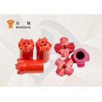 Durable Metal Mining Drill Bits , Tungsten Carbide Drill Bits Long Lifespan Manufactures