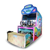 Happy Shooting Redemption Game Machine Wooden + Plastic + Metal  Material Manufactures