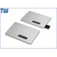 Promotion Slip Credit Card USB 2.0 Flash Drive High Printing Quality Best Service Manufactures