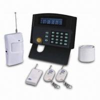 GSM Alarm System with LCD Color Screen, 24 Maximum Wireless and 2 Wired Zones Manufactures