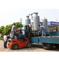 China Hydrogenation Deoxide Nitrogen Purification System With Atlas Copco Air Compressor on sale