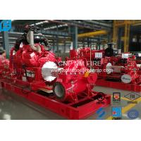 High Precision Centrifugal Fire Pump 1000GPM /145PSI For Storage Warehouses Manufactures