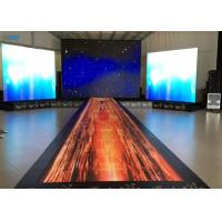 China Full Color Wedding LED Dance Floor Good Image Display Wide Viewing Angle on sale