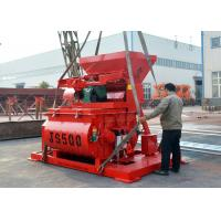 Js Series 500 Litres Concrete Machine Mixer 18.5kw Mixing Motor Power Manufactures