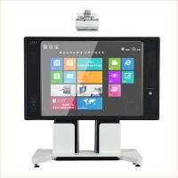 85 inch Movable Electronic Writing Board , Double Interactive Meeting Room support to 1080p Manufactures