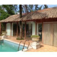 Aluminum Artificial Thatch Roofing Tiles for Resorts