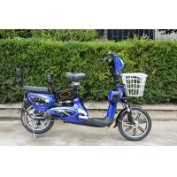 China Red Lady & Child Power Assisted Bicycle 16 Inch Wheel Pedal Electric Bike for sale