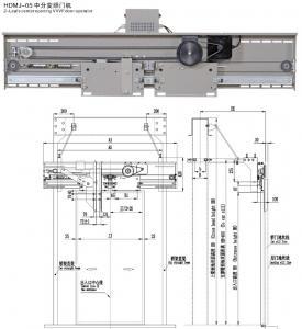 HDMJ-05  2 leafs center opening VVVF door operator