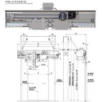 Quality HDMJ-05  2 leafs center opening VVVF door operator for sale