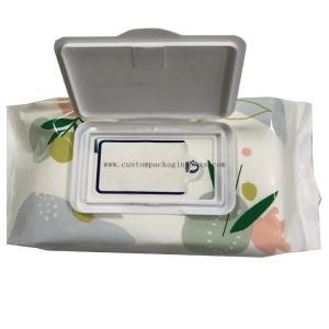 Digital Printing Custom Packaging Bags Side Gusset Wet Wipes Mid Seal Plastic Material Manufactures
