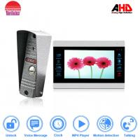 Morningtech Phone unlocked 10 Inch Sensor's Button AHD960P Video Door Phone , professional intercom system Manufactures