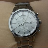 Prosver dani Men Sports Stainless Steel Watches, Silver Color Sapphire Crystal Watch Manufactures