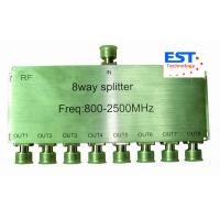 8.5db 8 Way High Frequency Splitter 800-2500MHZ with N-female Connector Manufactures