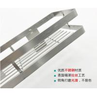 40cm Stainless Steel Kitchen Rack No Drilling Installation With Big Storage Space Manufactures