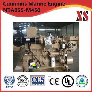 China Global warranty!Chongqing Cummins 450hp diesel marine engine NTA855-M450 for sale on sale